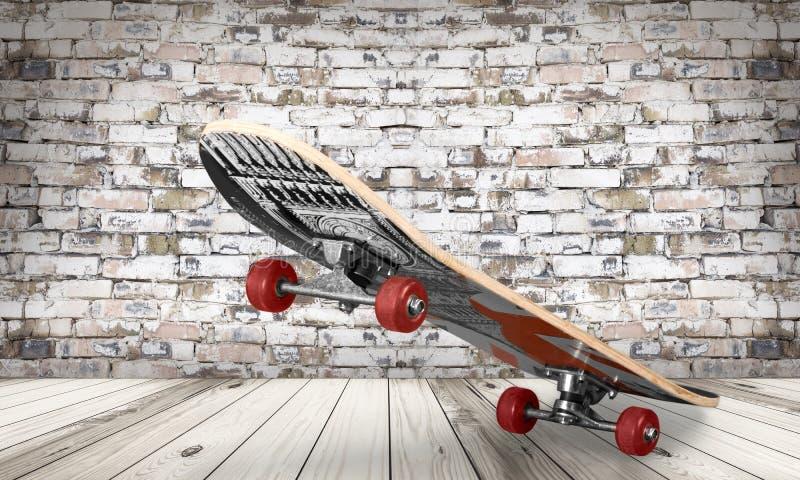 Vrije tijdsskateboard stock afbeeldingen