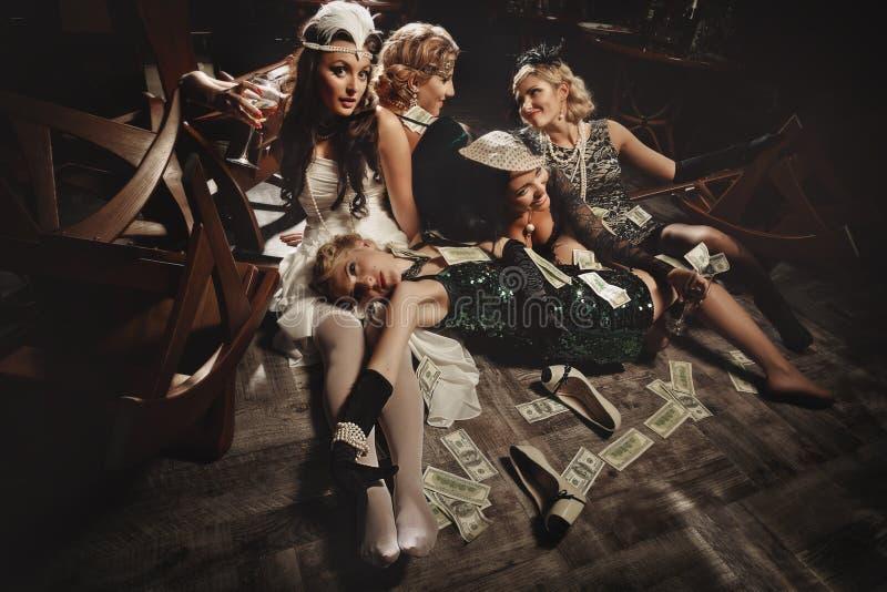Vrijgezellinpartij royalty-vrije stock foto's