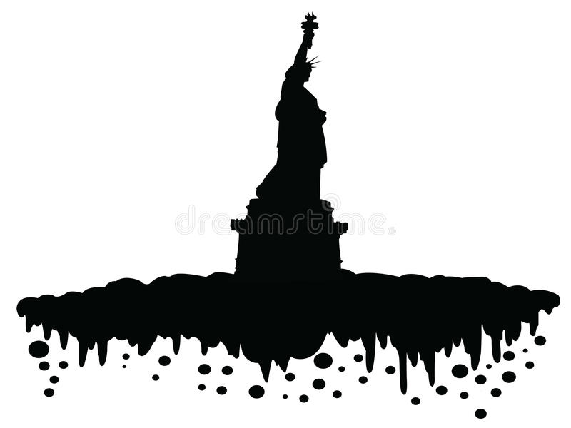 Vrijheid stock illustratie