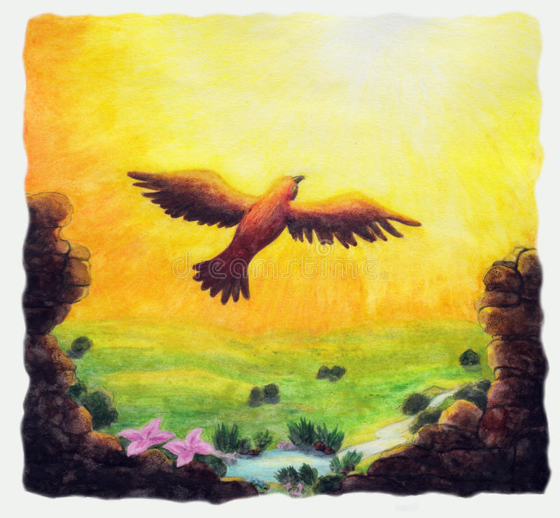 Vrijheid (1999) stock illustratie