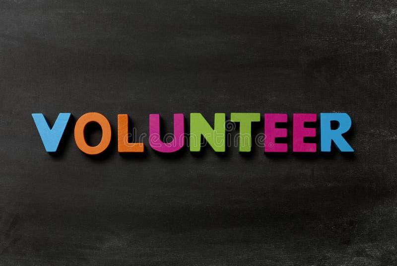 vrijwilliger royalty-vrije stock fotografie