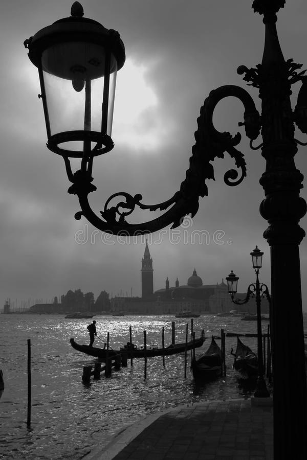 Vroege Ochtend In Venetië. Stock Fotografie