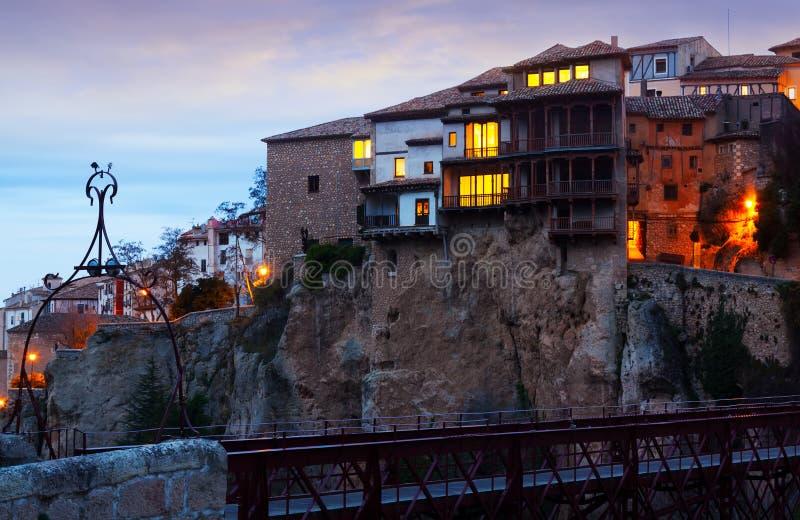 Vroege ochtendmening van Cuenca stock foto