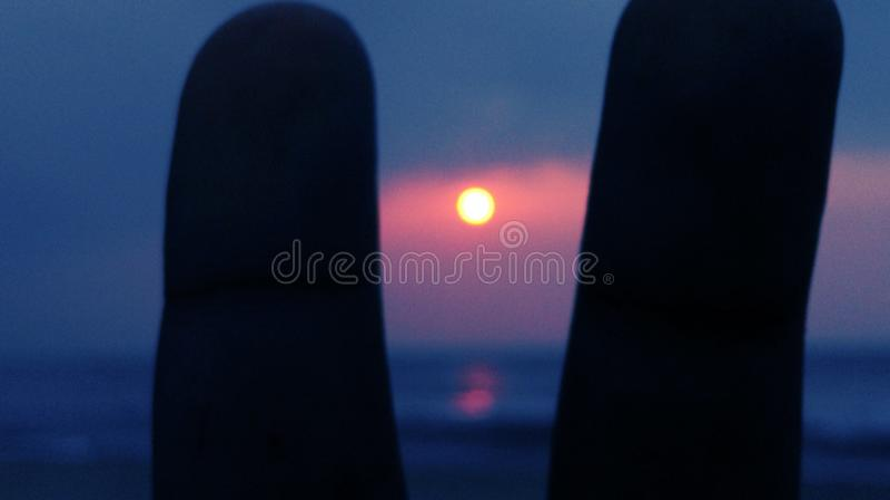 Vroege ochtendzonsopgang stock foto
