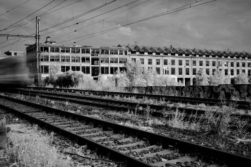 Vroegere Kolbenka in Praag royalty-vrije stock foto's