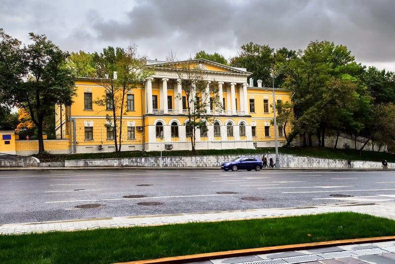 Vroegere manor van Prins Dolgoruky, Moskou, Rusland royalty-vrije stock afbeelding