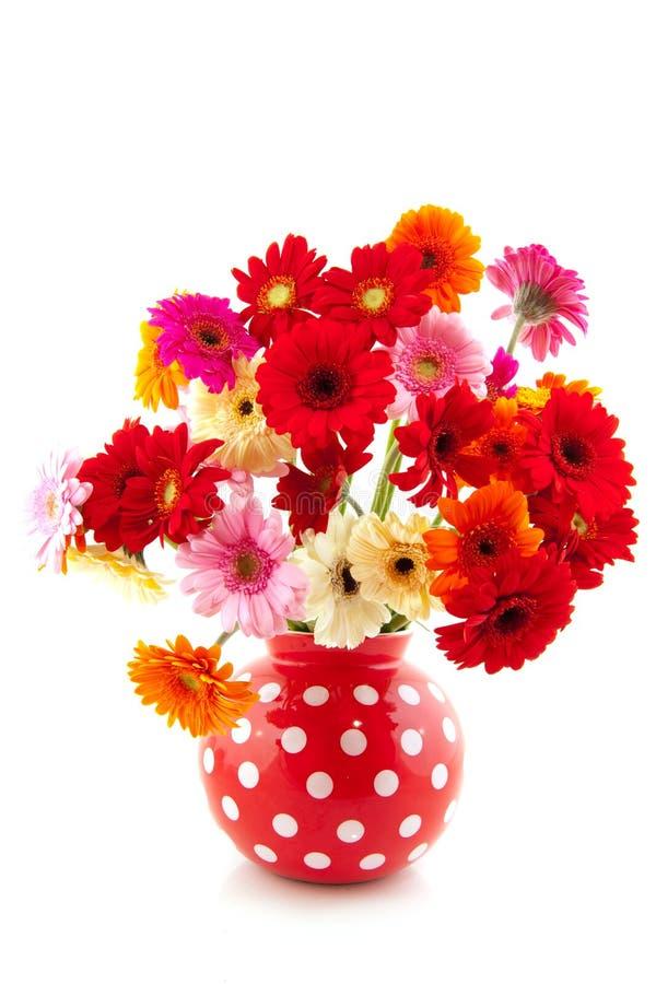 Vrolijk bloemboeket royalty-vrije stock foto