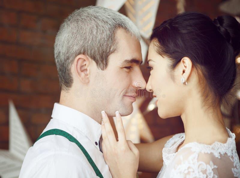 Vrolijk echtpaar royalty-vrije stock afbeelding