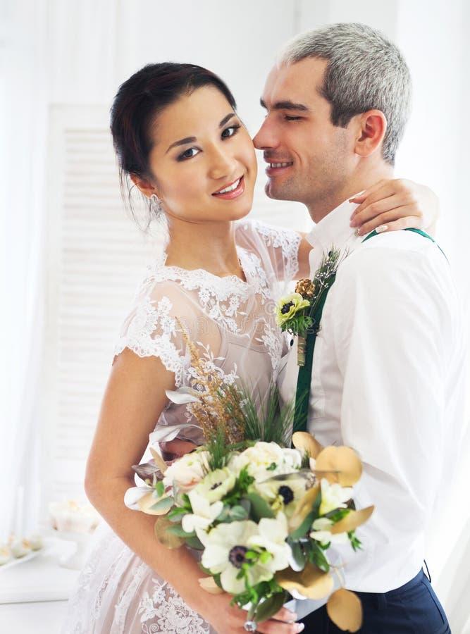Vrolijk echtpaar stock afbeelding