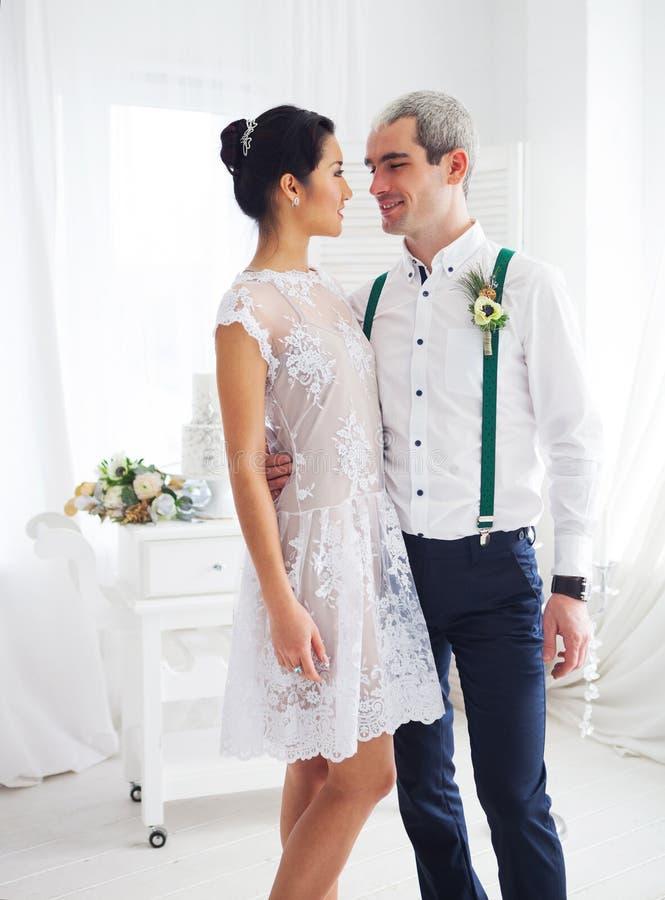 Vrolijk echtpaar stock fotografie