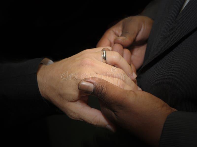 Vrolijk huwelijk stock fotografie