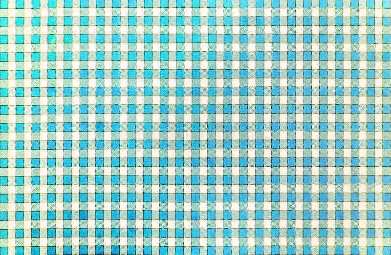 Vrolijk klassiek rustiek traditioneel gingangpatroon in lichtblauw en wit vector illustratie