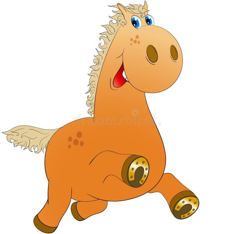 Vrolijk paard royalty-vrije illustratie