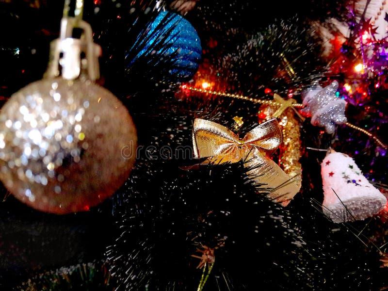 Vrolijke cristmasfoto stock afbeelding