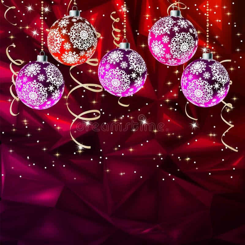 Vrolijke Elegante Suggestief van Kerstmis. EPS 8 royalty-vrije illustratie