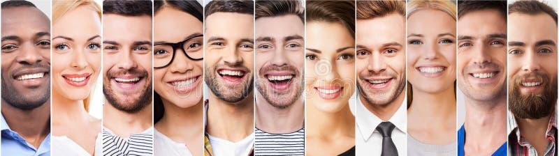 Vrolijke Glimlach royalty-vrije stock fotografie