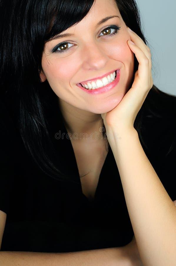 Vrolijke Glimlach stock foto