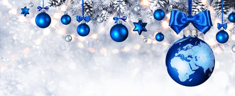 Vrolijke Kerstmis in de Wereld royalty-vrije stock afbeelding