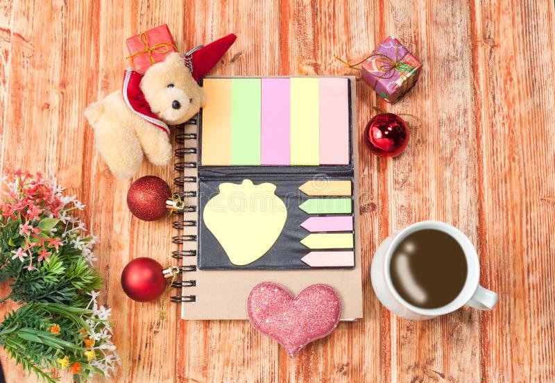 Vrolijke Kerstmis en het Gelukkige thema van het Nieuwjaar stock afbeelding