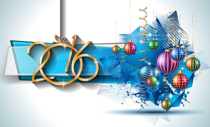 Vrolijke Kerstmis Seizoengebonden Achtergrond voor uw groetkaarten vector illustratie