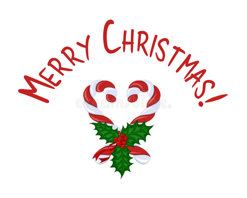 Vrolijke Kerstmis van de kaart stock fotografie