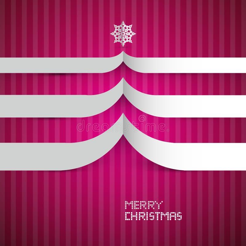 Vrolijke Kerstmisachtergrond royalty-vrije illustratie