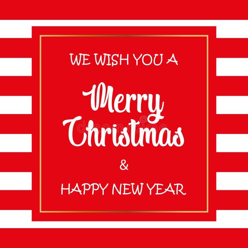 Vrolijke Kerstmisachtergrond Vrolijke Kerstmis en de Gelukkige achtergrond van het Nieuwjaar royalty-vrije stock afbeelding