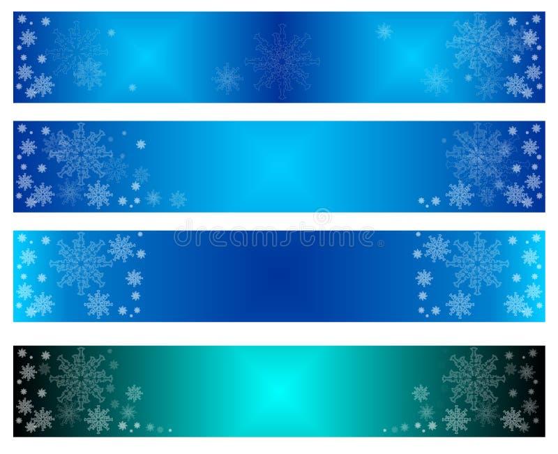 Vrolijke Kerstmisbanners, nieuw jaar, stichting, nieuw, voor Web, voor de reclame van, voor verkoop, voorstel, vector illustratie