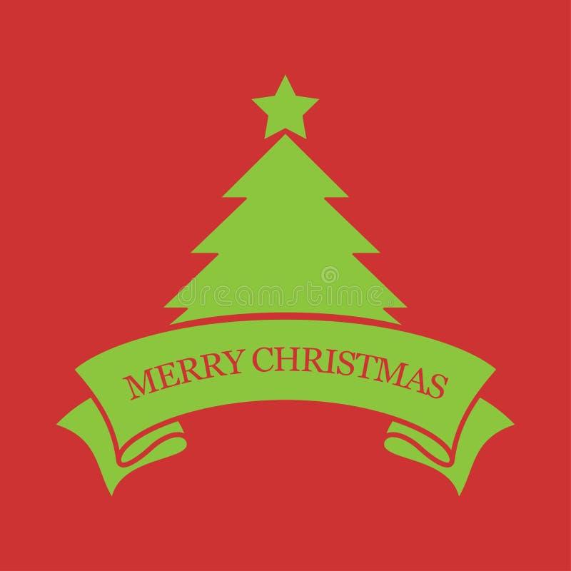 Download Vrolijke Kerstmiskaart vector illustratie. Illustratie bestaande uit verjaardag - 39104418