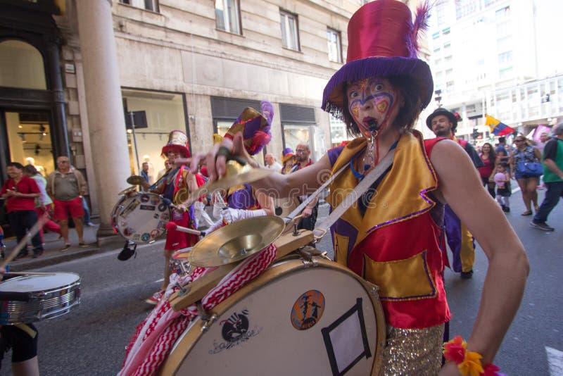 2016 Vrolijke trots Genua royalty-vrije stock foto's