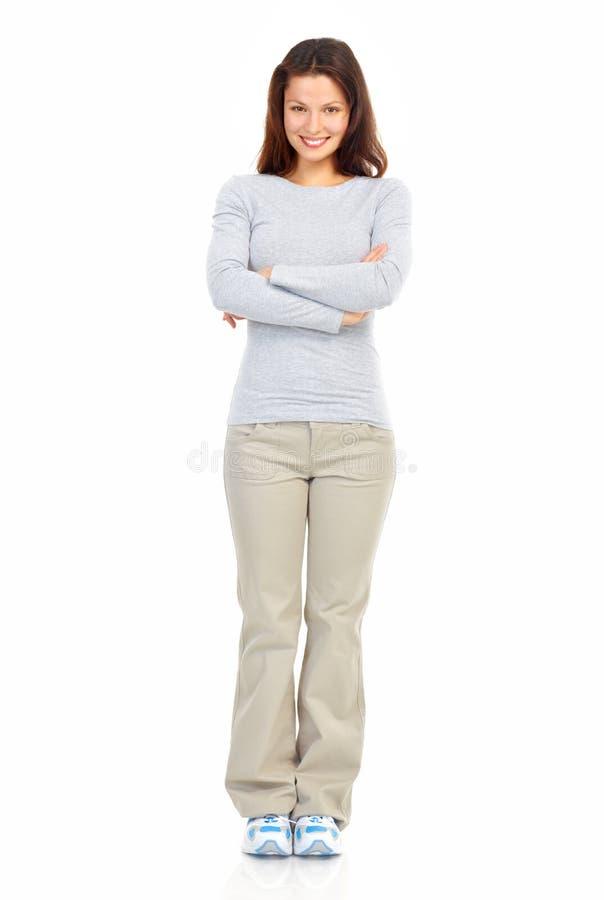 Vrouw stock foto