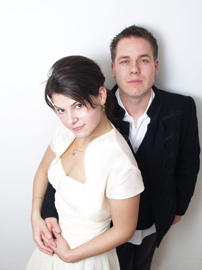 Vrouw en echtgenoot stock foto's