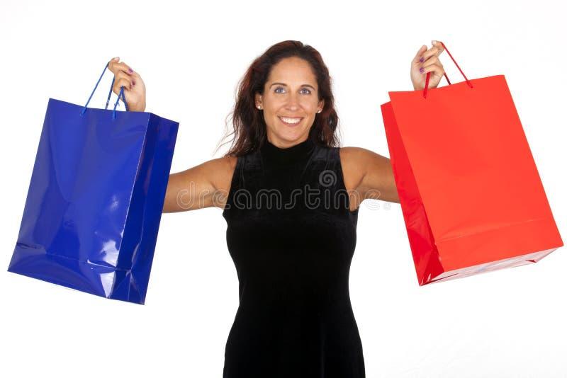 Vrouw het Winkelen stock foto