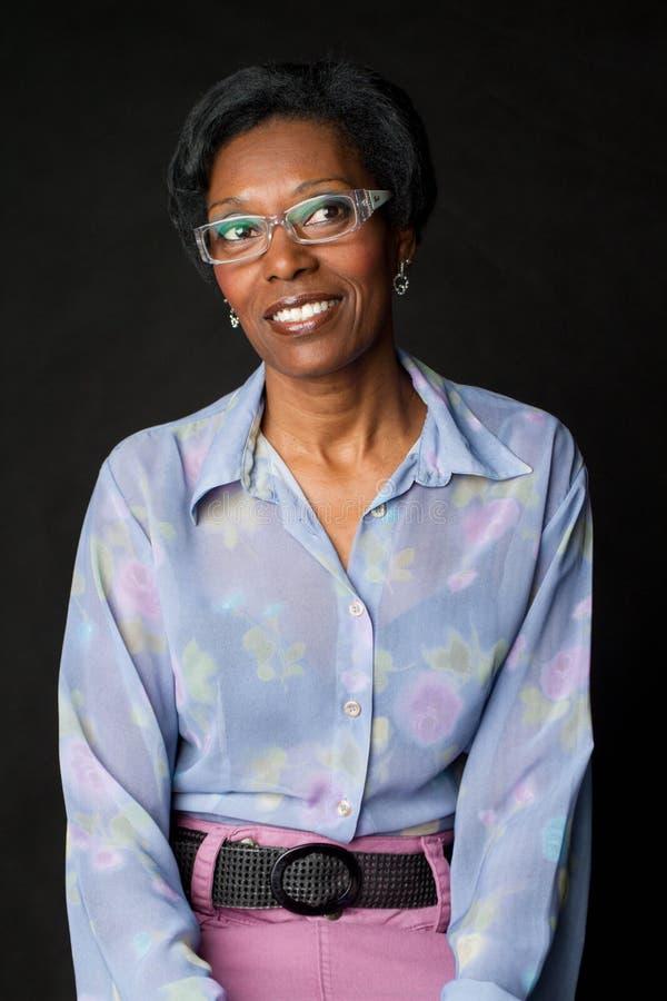 Vrouw hogere Afrikaanse Braziliaan     stock foto's