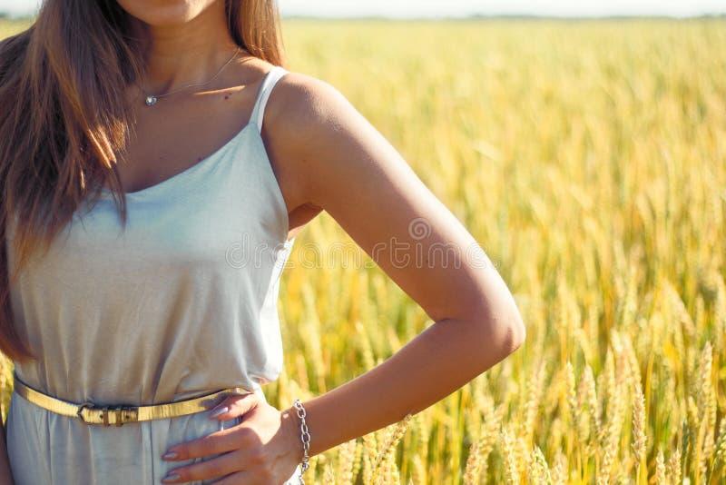Vrouw met gezonde huid royalty-vrije stock foto's