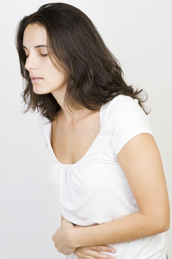 Download Vrouw met maagproblemen stock afbeelding. Afbeelding bestaande uit buik - 29506865