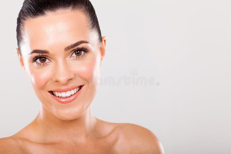 Vrouw skincare royalty-vrije stock foto's