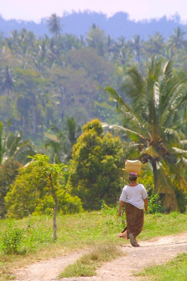 Vrouw van Bali stock foto
