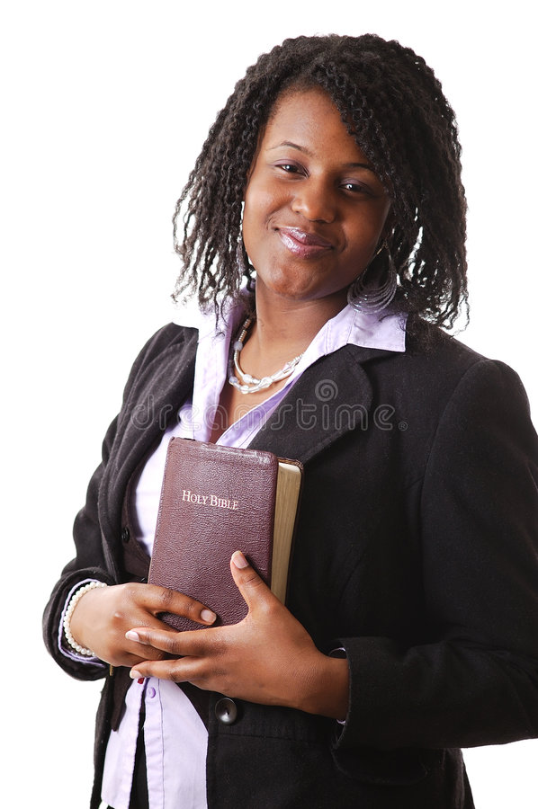 Vrouw van Geloof royalty-vrije stock afbeeldingen