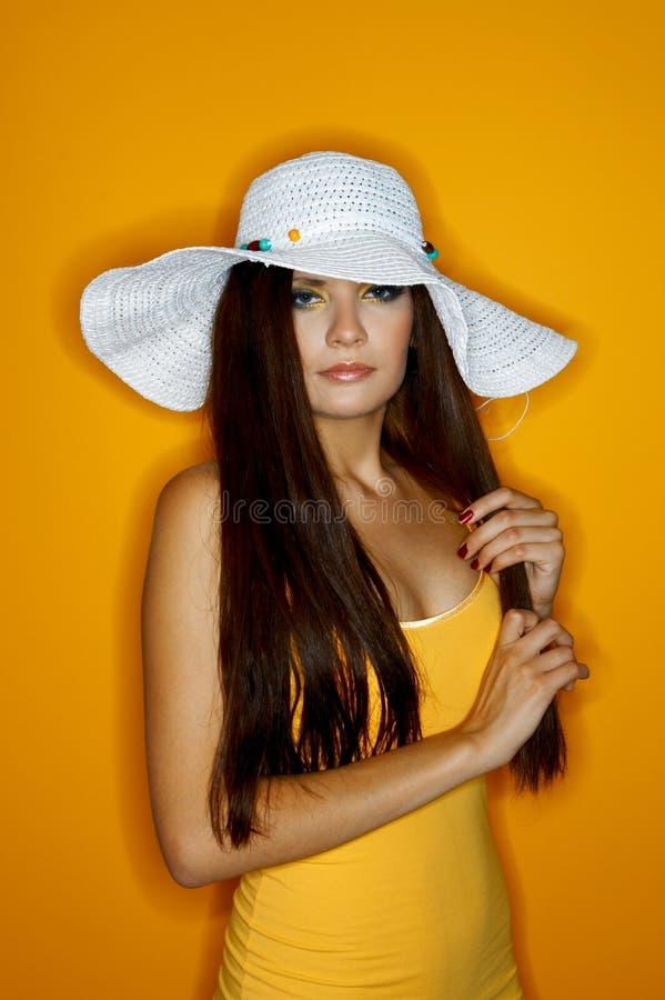 Vrouw van Kleuren royalty-vrije stock foto's