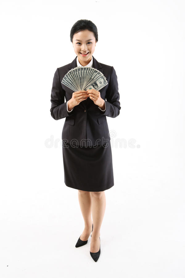 Vrouw in Zaken III stock foto's