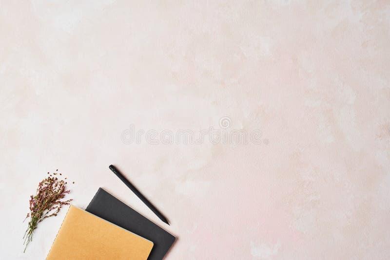 Vrouwelijk bureauconcept royalty-vrije stock afbeelding