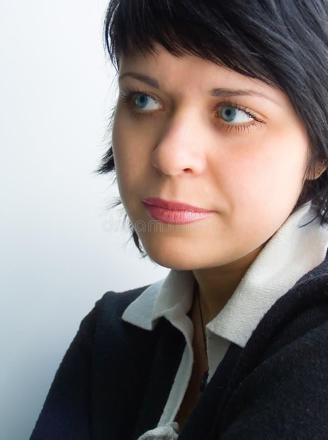 Vrouwelijk gezicht royalty-vrije stock afbeeldingen