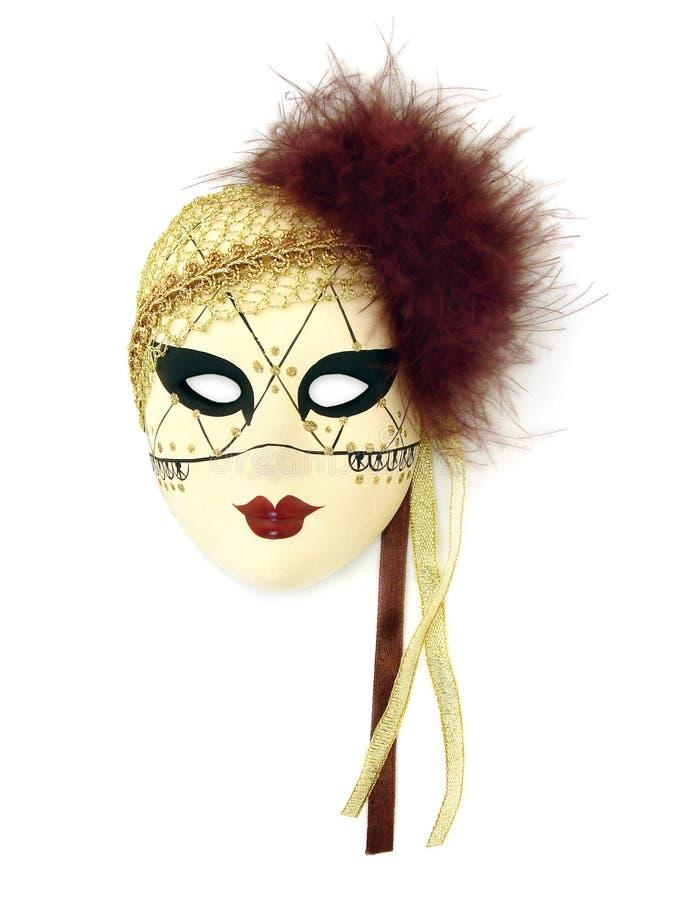 Vrouwelijk masker stock foto's