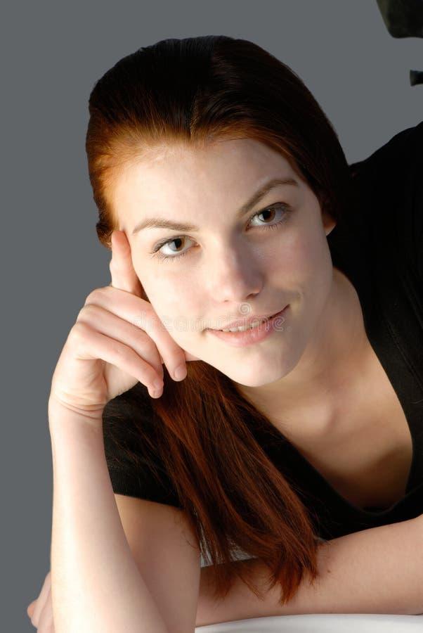 Vrouwelijk portret stock afbeeldingen