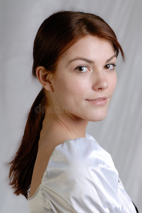 Vrouwelijk portret royalty-vrije stock foto