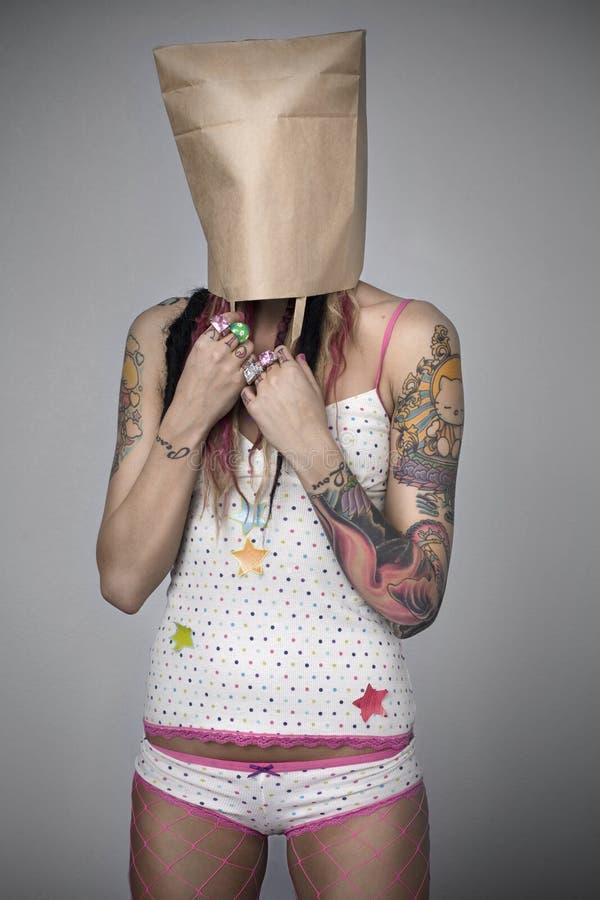 Vrouwelijk Portret stock afbeelding