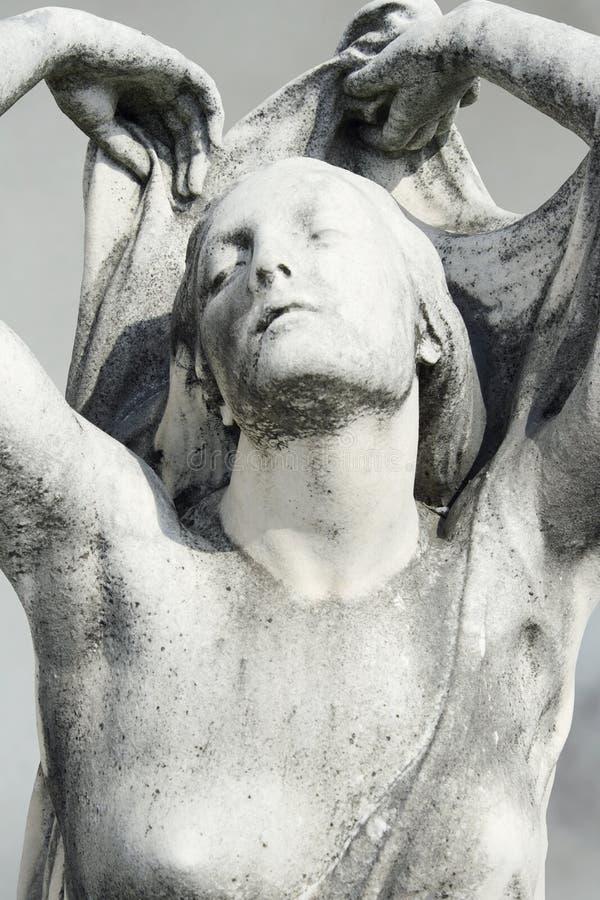 Vrouwelijk standbeeld royalty-vrije stock foto's