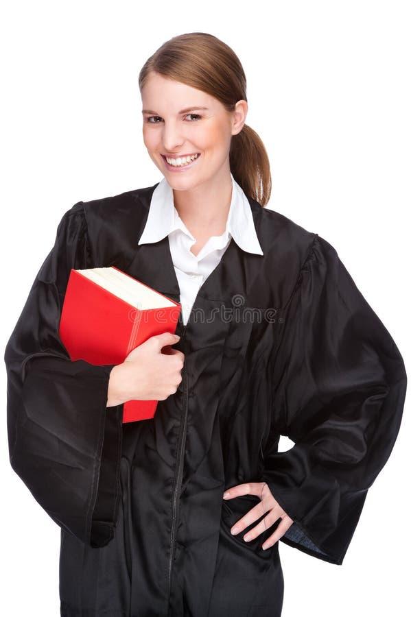 Vrouwelijke advocaat royalty-vrije stock afbeeldingen
