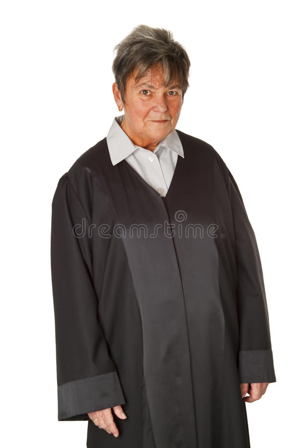 Vrouwelijke advocaat stock foto's